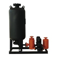 Integrated water make-up and supply transmission and distribution pumping set ( vertical monopole )