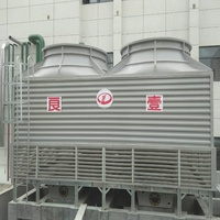 LYN Square Type Reverse Flow FRP Cooling Tower