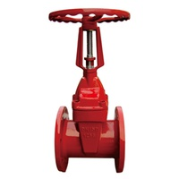 Rising Stem Flanged Resilient Gate Valve (TH010)